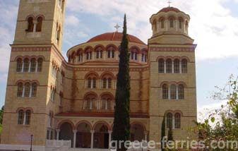 Monastery of Saint Nektarios Aegina Greek Islands Saronic Greece