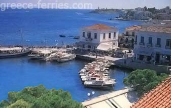Spetses Saronic Greek Islands Greece