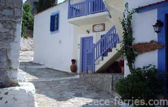 Architecture of Alonissos Greek Islands Sporades Greece