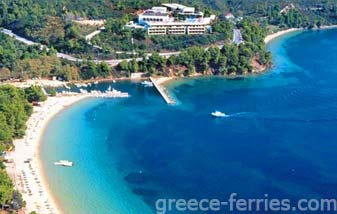 Megali Ammos Beach Skiathos Greek Islands Sporades Greece